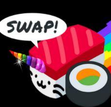 sushiswapかわいい。